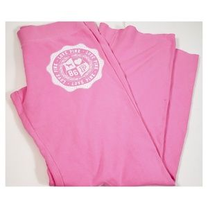 Pink by VS Pink Flare Love Pink Sweatpants